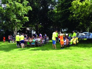 "Almost 30 children attended Longwood's ""backyard Bible club"" in a nearby neighborhood. This experience led to serving more than 200 in a follow-up block party."