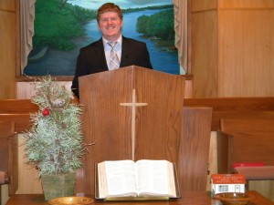 Donnie Hazlewood began serving as Longwood's pastor in September 2012.