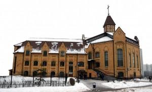 Golgotha Baptist Church in Moscow is an impressive landmark.
