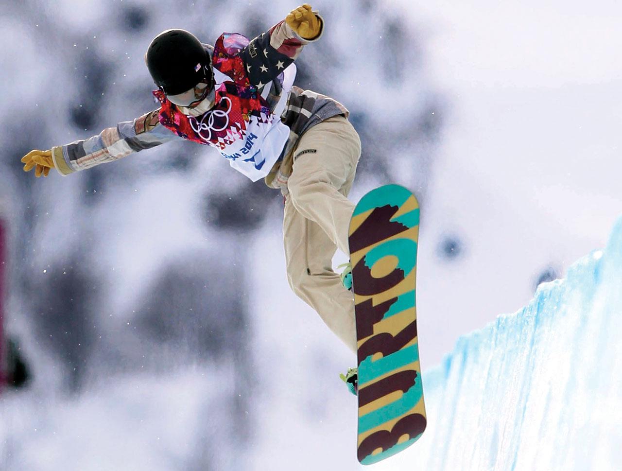 Snowboarder seeks to inspire beyond Sochi