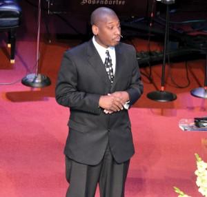 K.J. Jackson, pastor of Tulsa, New Beginnings.