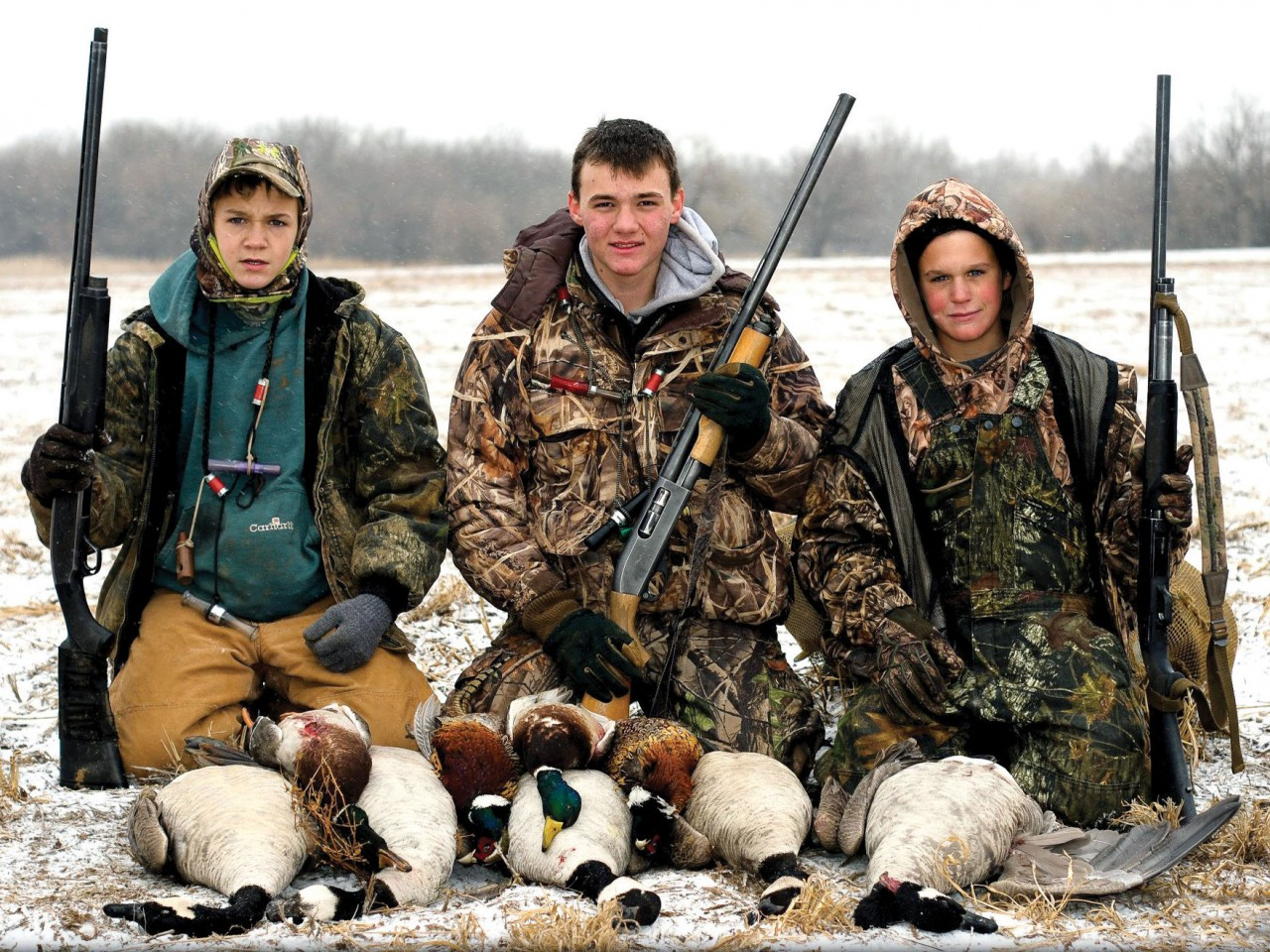 Spiritual results from hunting and horseback riding