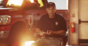 Val Castor, longtime storm chaser, is featured in the film.