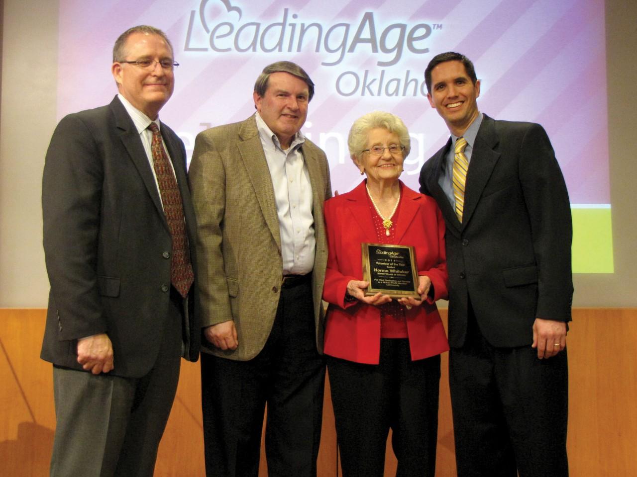 Baptist Village 'servants' honored