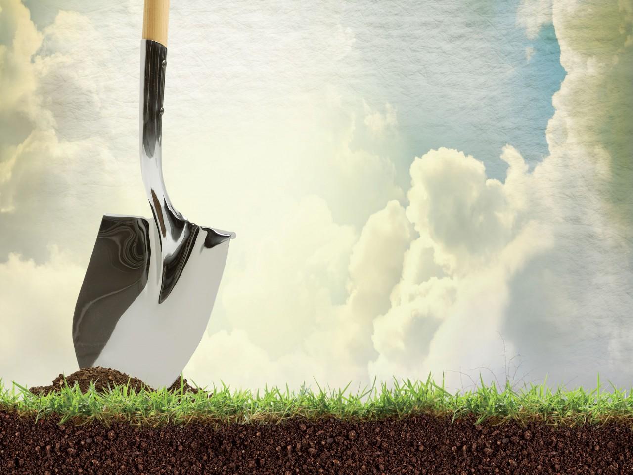 Ground breaking for the Gospel