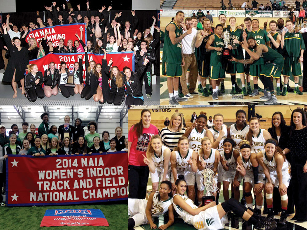 OBU claims 3 NAIA titles, 2 SAC titles in 1 day