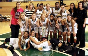 OBU women's basketball SAC Champs