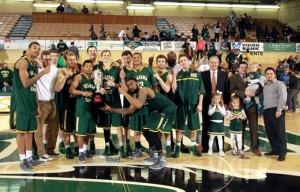 OBU Men's basketball SAC Champs