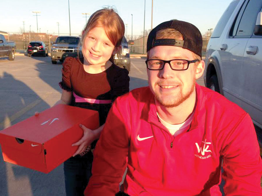 Former OBU basketball player uses shoes to spread Gospel