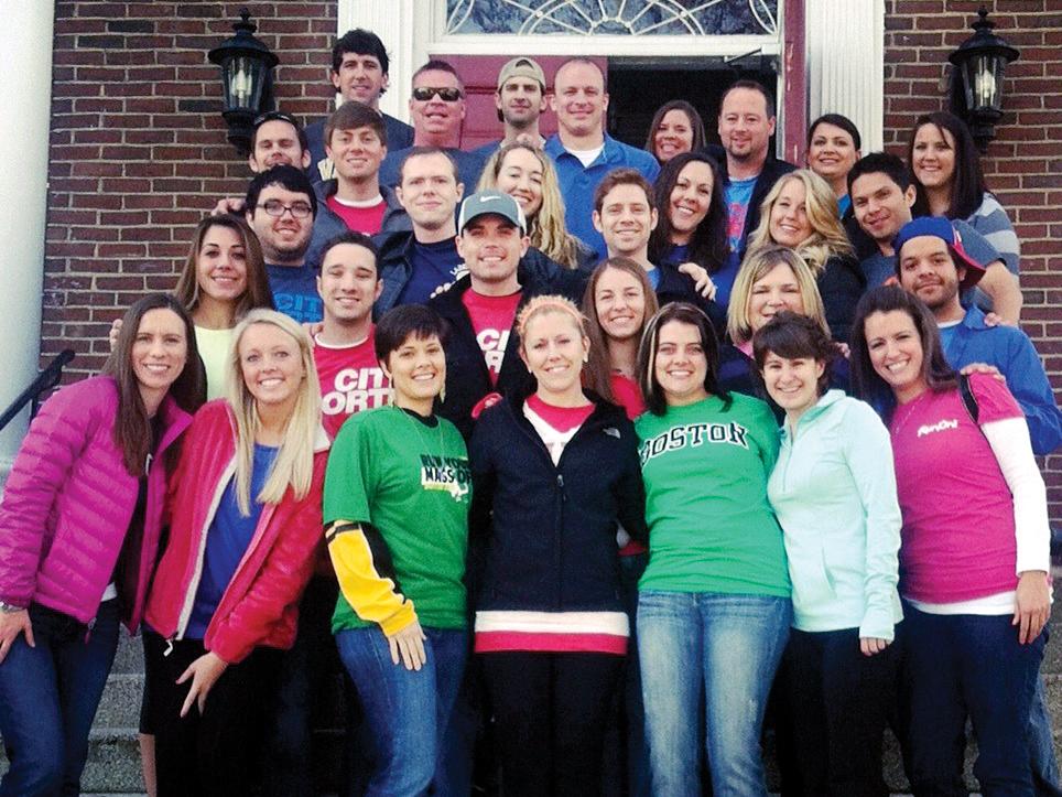 Boston Marathon outreach helps church planting efforts