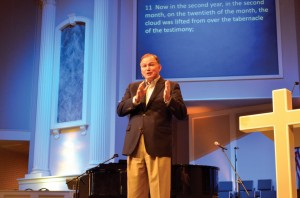 """If your business is more organized than your Sunday School class then your priorities aren't straight,"" said Hance Dilbeck, pastor of Oklahoma City, Quail Springs, during the opening rally of the Transform Conference."