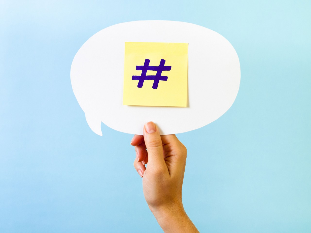 Conventional Thinking: #hashtag, you're it