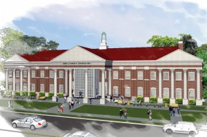Stavros Hall will be the home of the OBU College of Nursing.