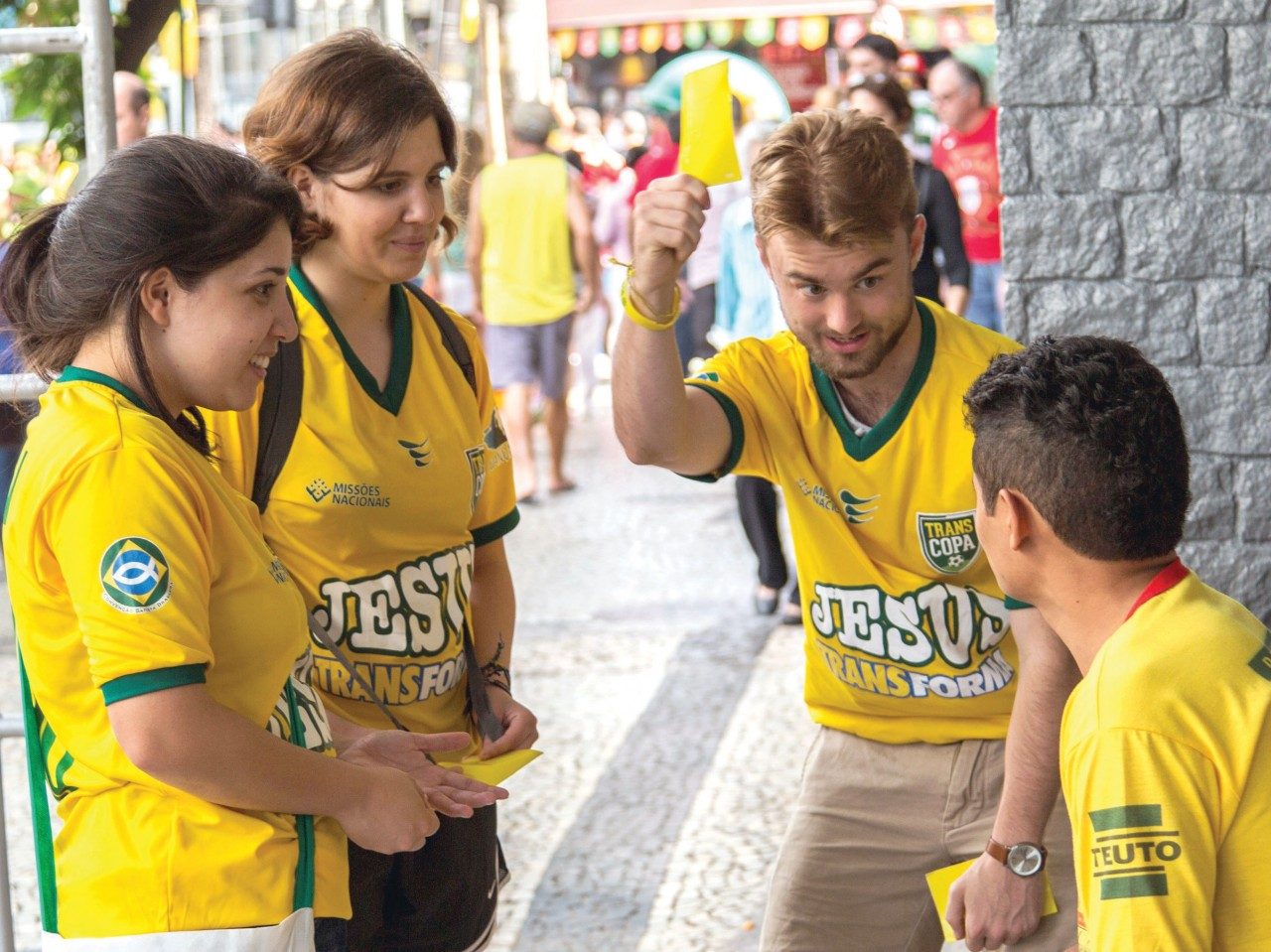'Yellow Card Strategy' shines for Christ on World Cup stage