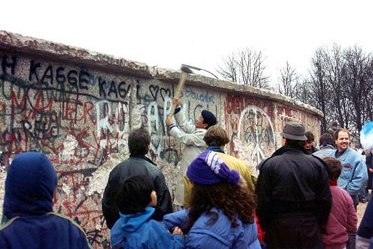 Berlin Wall lost its grip 25 yrs. ago