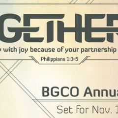 BGCO Annual Meeting