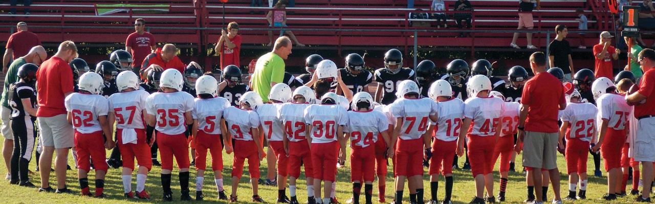 Sulphur sports league reaches community for Christ