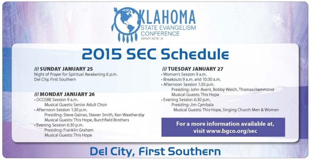 SEC-Schedule