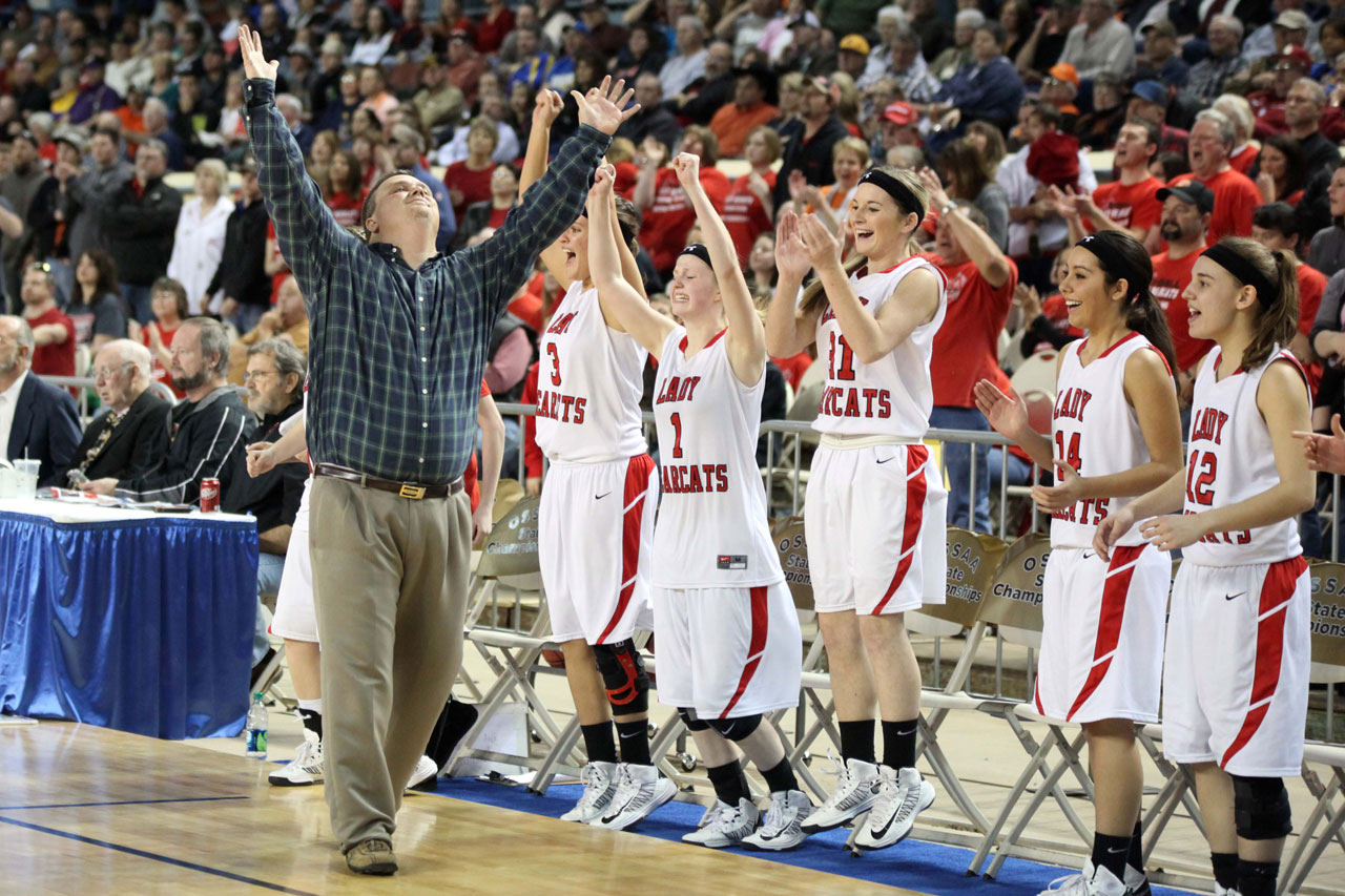 Erick's girls basketball coach doing things 'the right way'