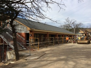 The renovation of the Kannady Family Lodge is close to completion