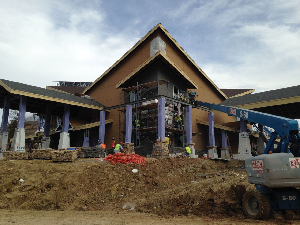 Progress continues with projects at Falls Creek
