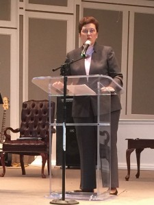 Patsy Davis, executive director of Baptist World Alliance, Women's Department, was a keynote speaker at the Willene Pierce Memorial Conference