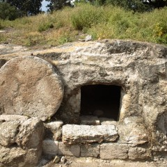 EASTER: Jesus put things in order & walked out of the tomb