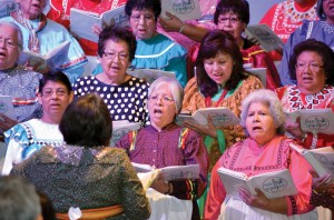 Native Praise provided special music during the final session Saturday morning (Photo: Chris Doyle)