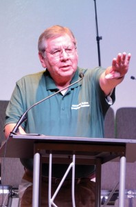 Emerson Falls, BGCO Native American specialist, served as director of the Oklahoma Indian Evangelism Conference (Photo: Chris Doyle)