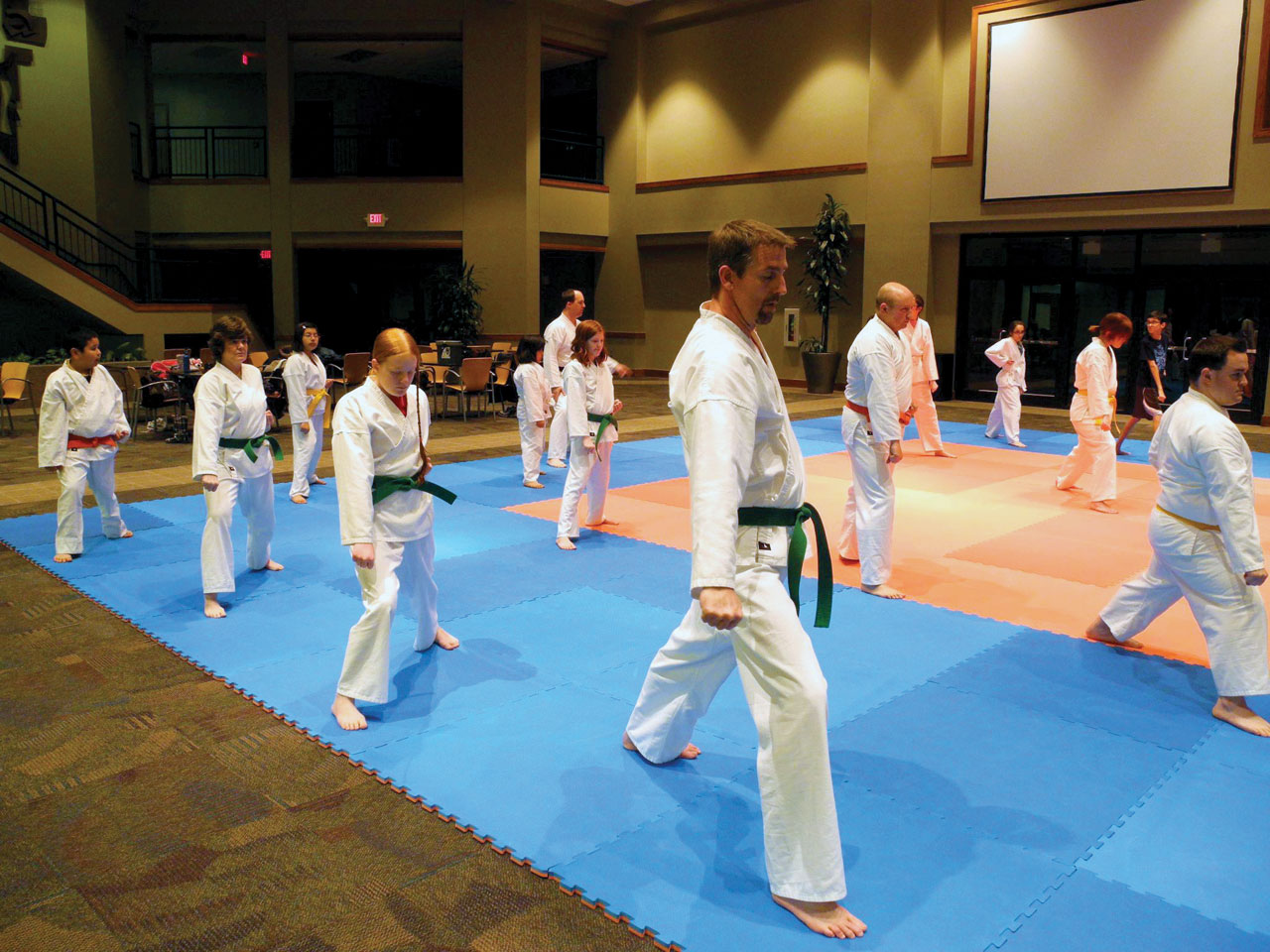 Karate ministry has 'staying power' at Moore, First