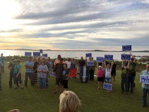 Members of the Altus community gather to pray for rain. (Photo: Provided)