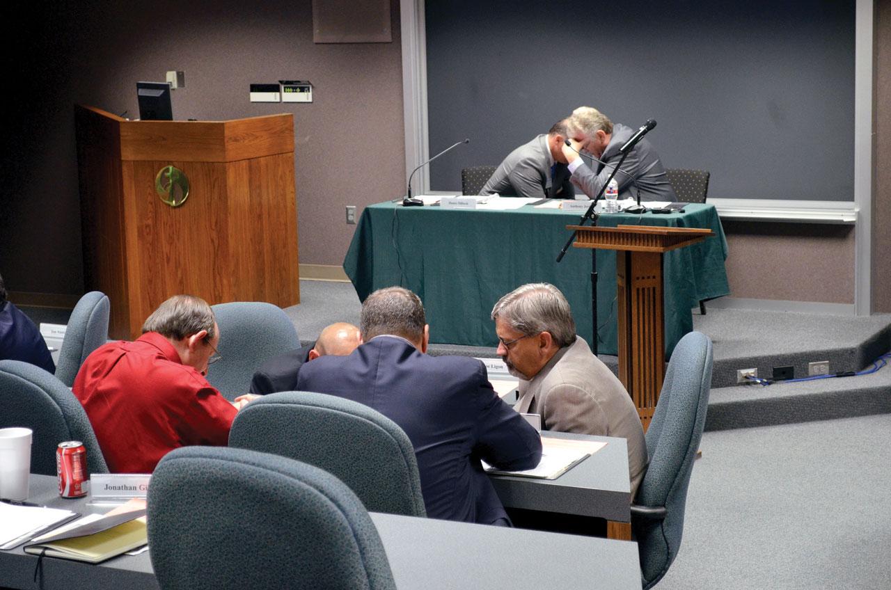 Impromptu prayer meeting uplifts BGCO board meeting