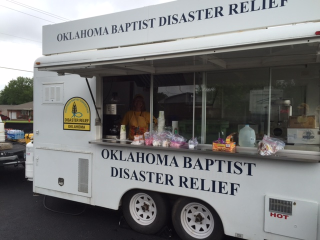Oklahoma Baptists to Take Leading Role in Flood Response