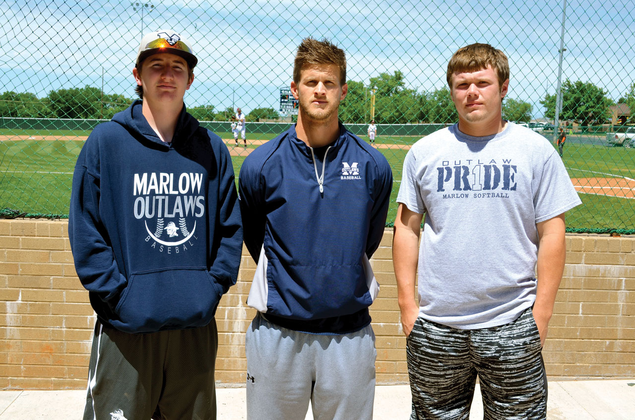 Marlow baseball team finds shelter at OKC, Putnam City