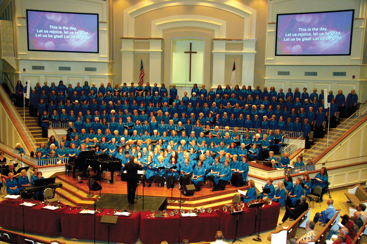 Singing ChurchWomen celebrate their 25th anniversary