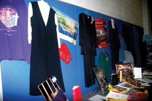 SCW attire from the past 25 years was on display. (Photo: Dana Williamson)