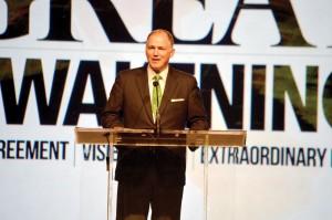 Hance Dilbeck, senior pastor of Oklahoma City, Quail Springs, served as SBC second vice president (Photo: Chris Doyle)