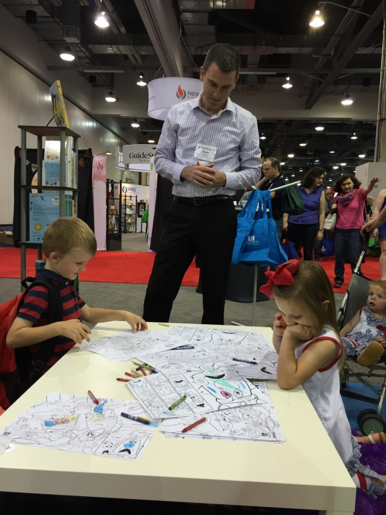 Brian Hobbs ‏@BrianGHobbs  · 7h7 hours ago   FBC Sentinel Pastor Heath Tucker and his children enjoy a kid-friendly exhibit from B&H publishers at the #sbc15