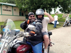 F.A.I.T.H. Riders shared rides with campers (Photo: Provided)