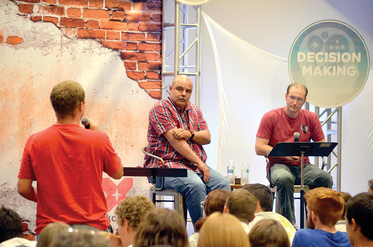 Falls Creek forum helps students answer tough questions on faith