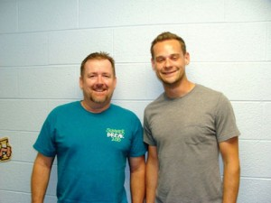 From left, Rick Jones and Chad Jones, members of Muskogee, First. Jones accepted Christ at the BGCO Men's Rewired Retreat and was connected to the church through Sunday School. (Photos: Provided)