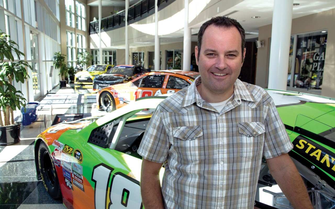 NASCAR church answer to pastor's prayers