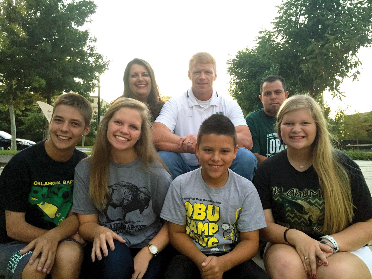 OBU football coach & wife live out foster care