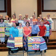 Partnership missions:  Prayer quilts headed to Russia