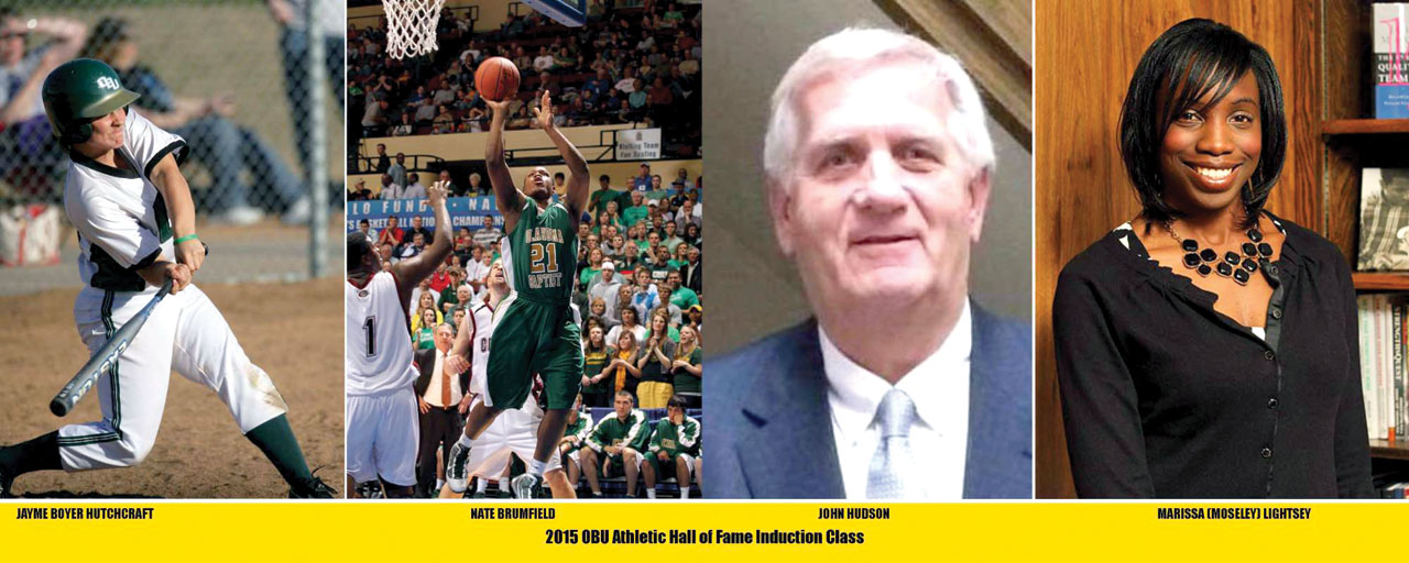 Four headed to OBU Athletic Hall of Fame