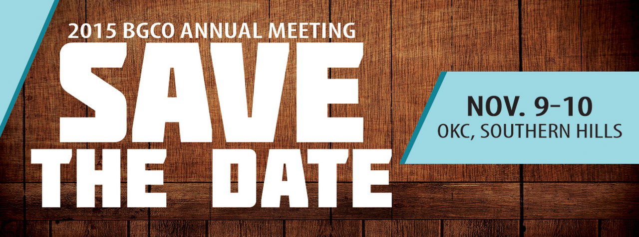BGCO Annual Meeting Resolutions Due Oct. 1