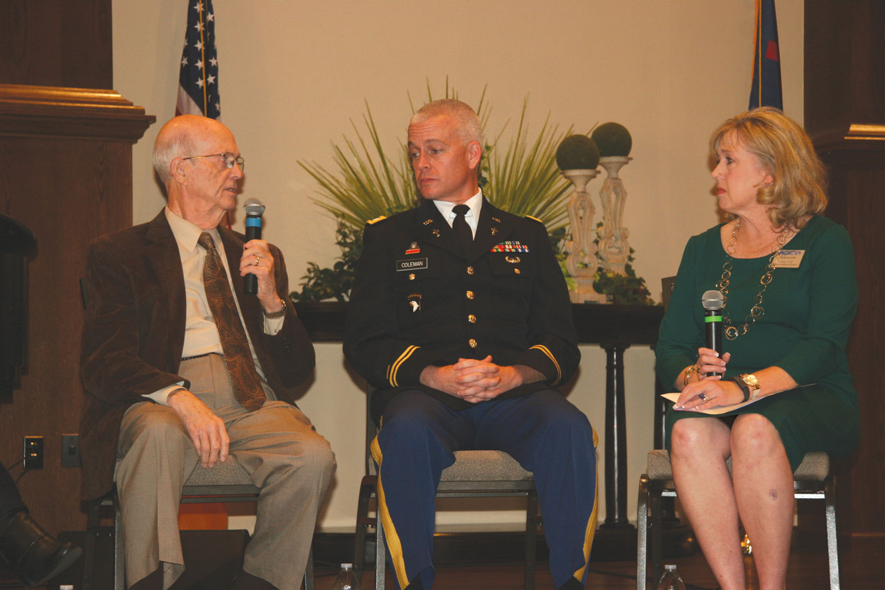 Symposium highlights help for PTSD sufferers