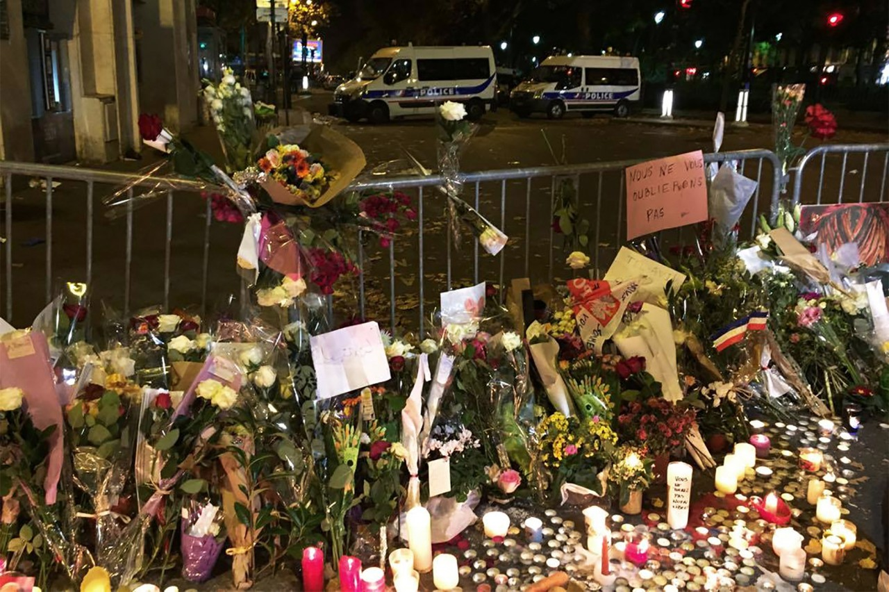 In Paris, 'death, pain & terror' met by prayer, hope