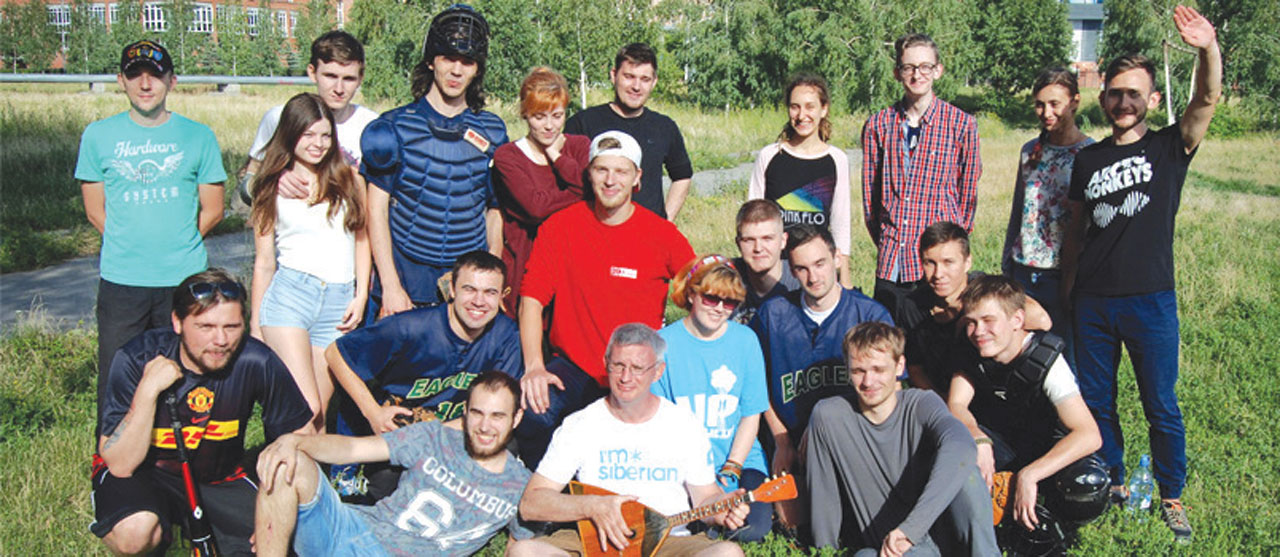 IMB missionary reaches Russian teens with sports