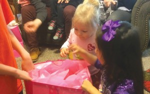 photos: provided Presents are always part of a birthday party.
